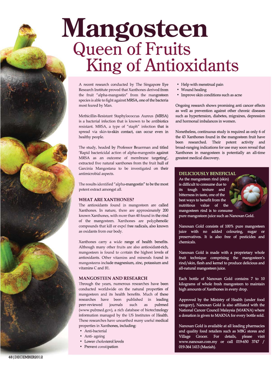 122012 Mangosteen Queen of Fruits