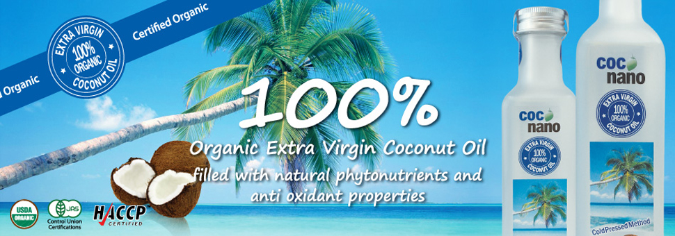 Coconano - Organic Extra Virgin Coconut Oil